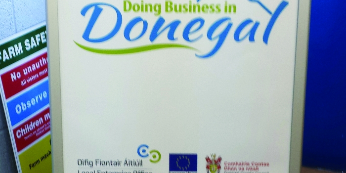 Doing Business in Donegal Poster