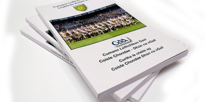 Donegal County GAA Booklet