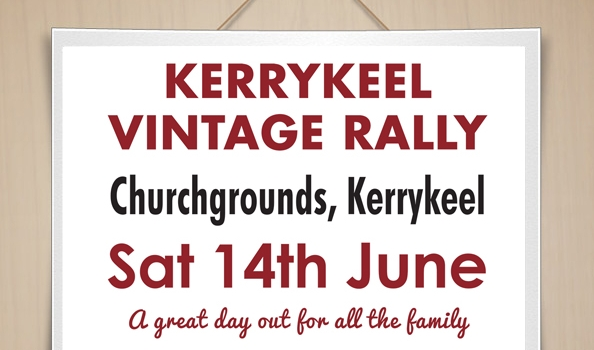 Vintage Rally Sign