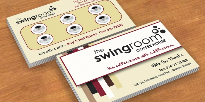 Swing Room Business Card