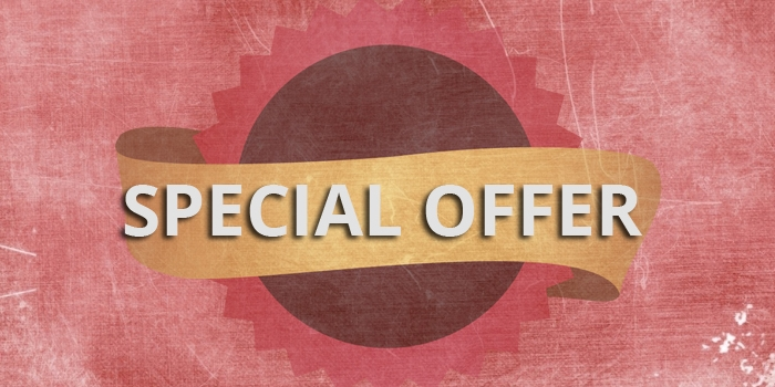 Special Offer Time!