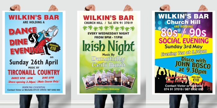 Bar Posters